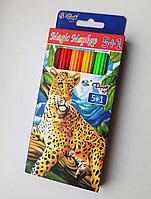 MAGIC маркеры 5+1 (10 цв) Леопард (меняют цвет), фото 1