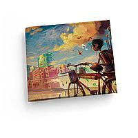 Обложка для зачетной книжки ZTK1 «Мальчик и велосипед»