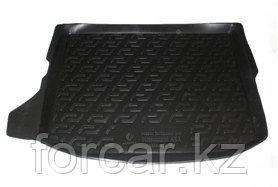Коврик в багажник Mitsubishi ASX cабвуфер (10-) (полимерный) L.Locker