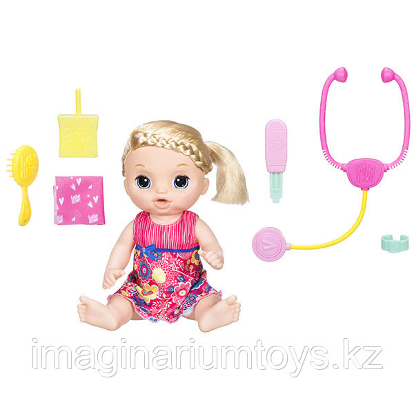 "Беби Элайв кукла кукла интерактивная ""Маленький доктор"" Baby Alive"