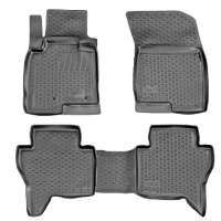 Коврики в салон Mitsubishi Lancer X (07-) (полимерные) L.Locker