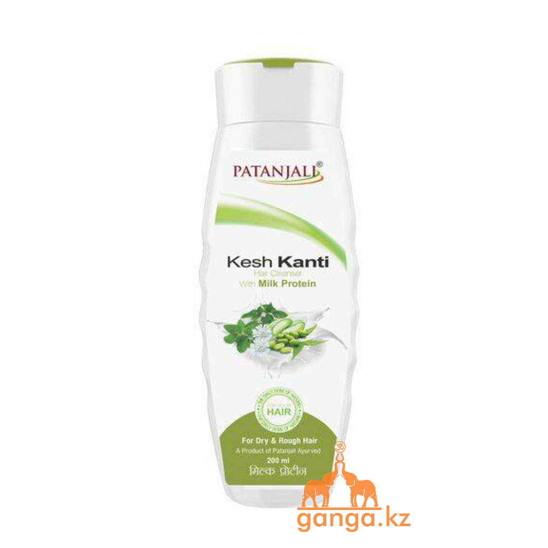 Шампунь молочный протеин Кеш Канти (Kesh Kanti Milk Protein PATANJALI) , 200 мл.