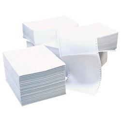 Бумага перфорированная 210 (1400 листов, плотность бумаги 60-65 г/м2)