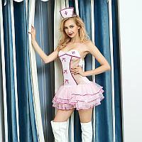 Эротический костюм мед сестры для сексуальной  роливой игры, фото 1