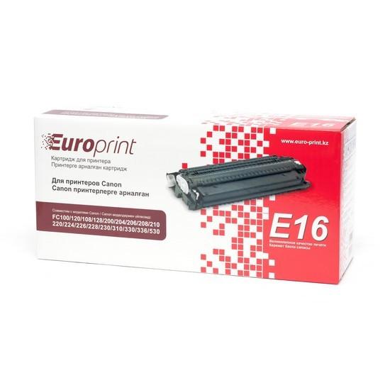 Картридж Europrint EPC-E16 Black (2000 страниц)