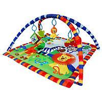 Развивающий коврик LaDiDa Веселый зоопарк