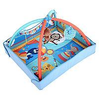 Развивающий коврик LaDiDa Обезьянка в цирке (со светом и музыкой), фото 1