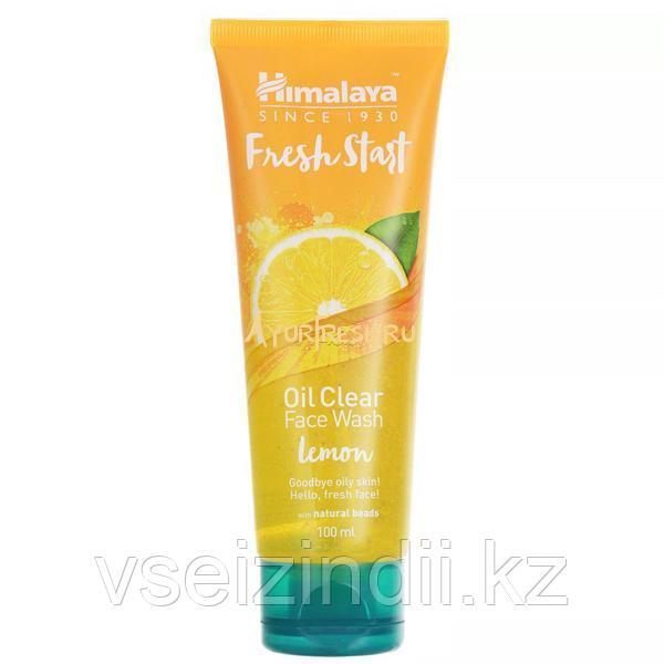 Гель для умывания Фреш Старт, Лимон, Гималаи (Face Wash Fresh Start, Lemon, Himalaya),  50 мл