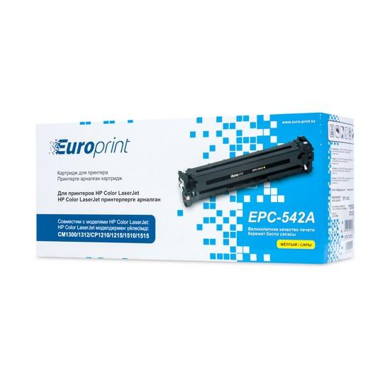 Картридж Europrint EPC-542A Yellow (1400 страниц)