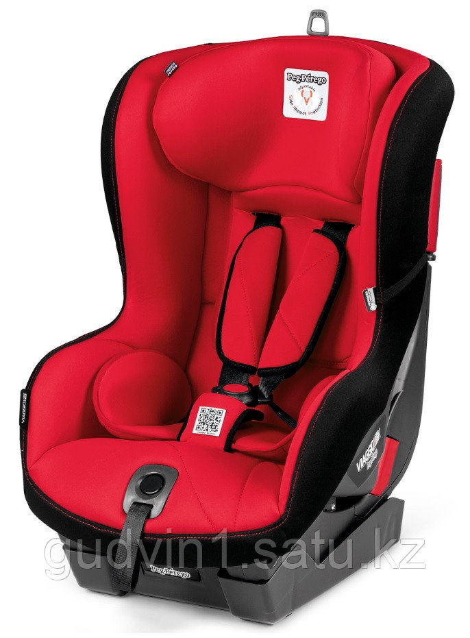 Автокресло Peg-Perego Viaggio 1 Duo-Fix K + Isofix Base 0+1 Rouge