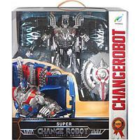 Боевой супер робот-трансформер Changerobot серый