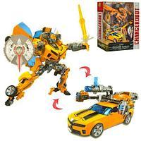 Роботов-трансформеров Changerobot желтый 45см