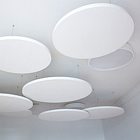 Акустические подвесные панели 900x30 Circle, фото 1