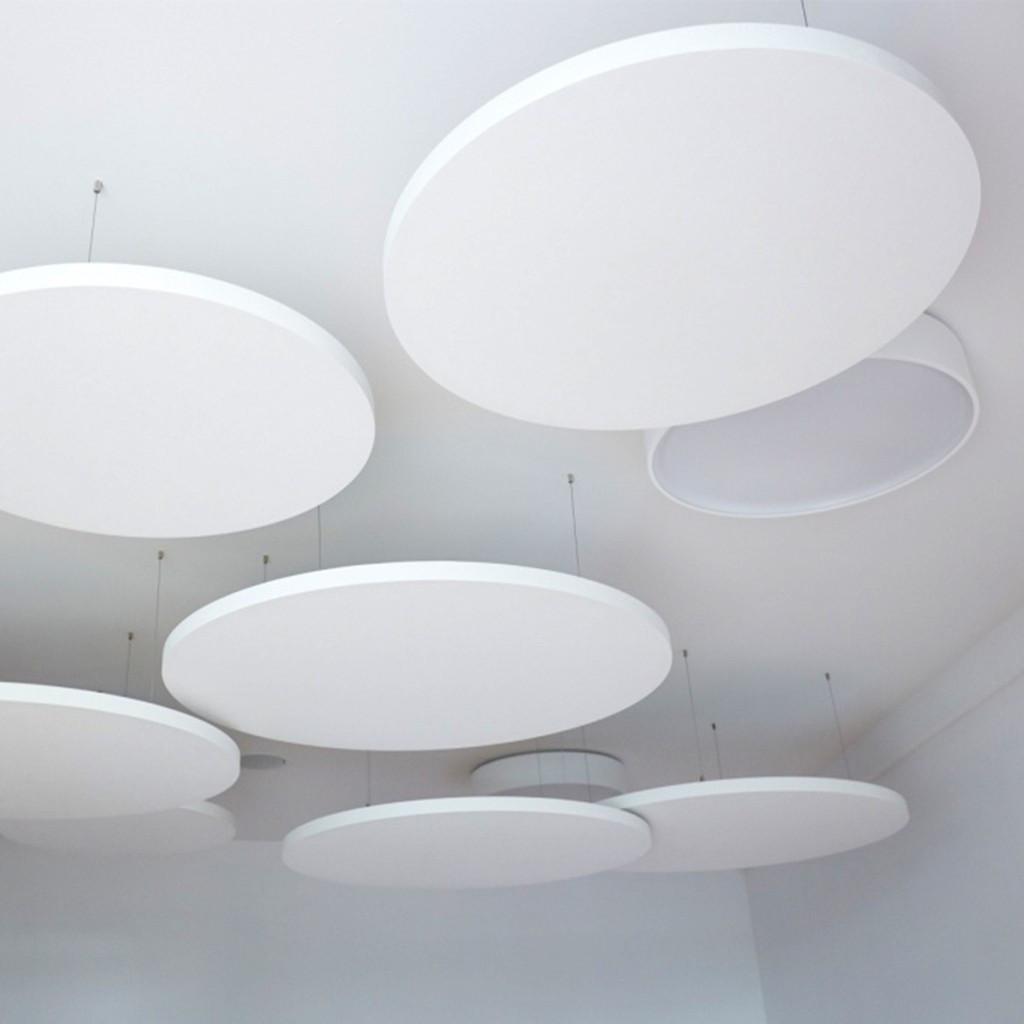 Акустические подвесные панели 900х40 Circle