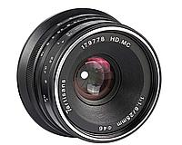Одиночная линза 25 мм f1,8