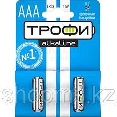 Батарейка Трофи LR03-2BL ААА