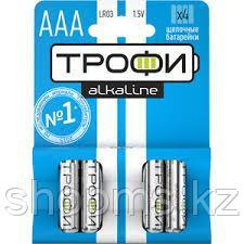 Батарейка Трофи LR03-4BL ААА