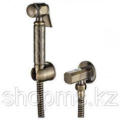 Гигиенический душ со смесителем OUTE TH605 Бронза  ^2