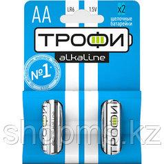 Батарейка Трофи LR06-2BL АА