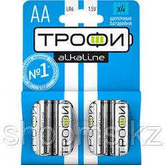 Батарейка Трофи LR06-4BL АА