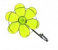 Крючок присоска Ромашка 94-004 зеленый АкваЛиния