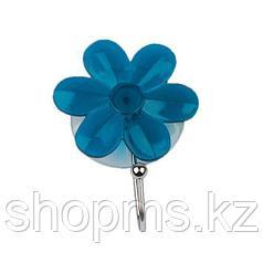 Крючок присоска Ромашка 94-005 синий АкваЛиния