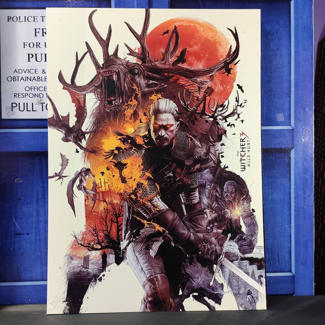 Постер Ведьмак 3 - Дикая Охота