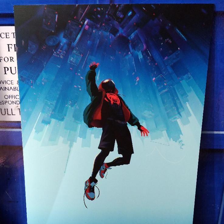 Постер Человек-паук Майлз Моралес