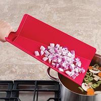 Доска складная Chop2Pot™ Plus красная (Joseph Joseph, Англия)