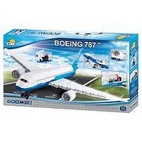 Конструктор Cobi Самолет BOENG-787 DREAMLINER 600 дет.