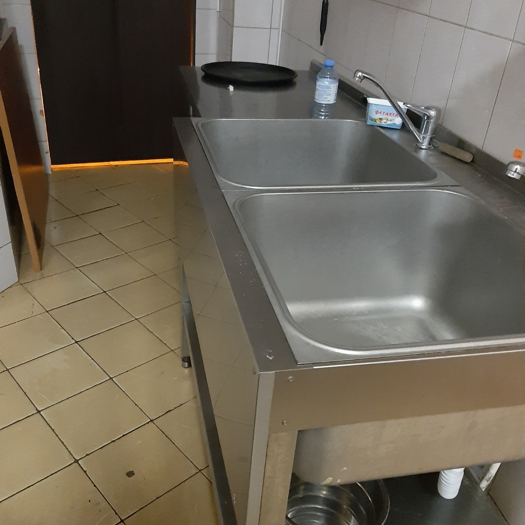 Ванна моечная 2 секции ВМП-7-2-5 РН б/у