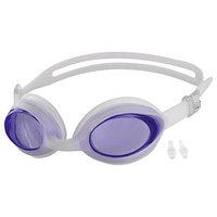 Очки для плавания  беруши, цвета МИКС