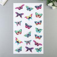 Наклейки Divino 'Яркие бабочки' 30х50 см