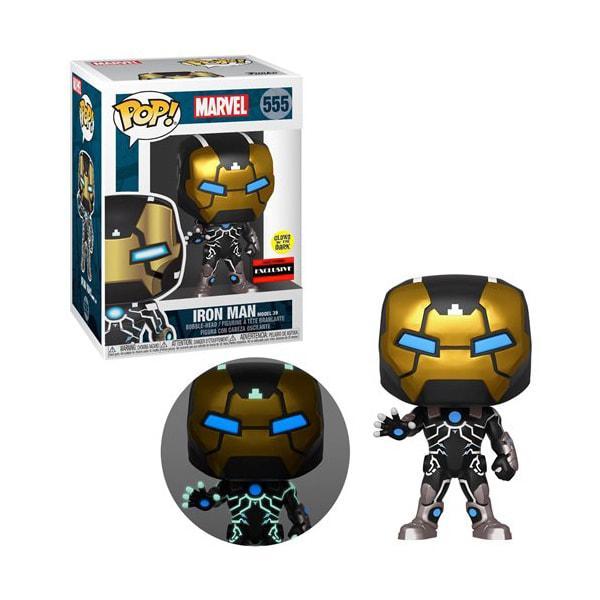 Funko Pop Iron Man 555 (светится в темноте - эксклюзив)