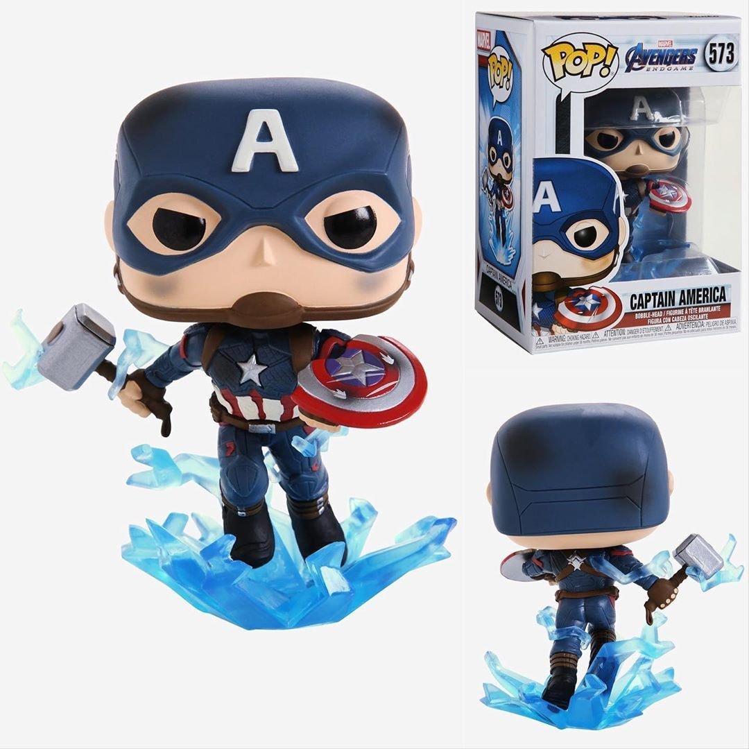 Funko Pop Капитан Америка с молотом и щитом 573