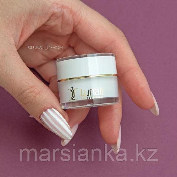 Гель-краска Lunail KR1 белая, без липкого слоя, 5ml