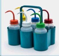 Корзина для переноски 6 бутылей по 500 мл (ISOLAB)