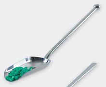 Совок мерный из нерж.стали, L-200 мм, с длинной ручкой (ISOLAB)