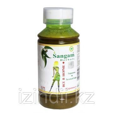 """Натуральный сок для похудения """"Все в норме плюс"""", 500 мл, Sangam Herbals"""