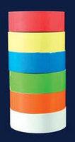 Лейблы прямоугольной формы, 24х13 мм, 6 цветов (упаковка - 6 рулонов по 1000 наклеек) (ISOLAB)