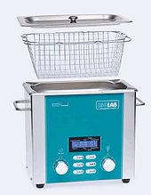 Ванна ультразвуковая с дегазатором (V=6 л), таймер (1-60 мин), t (комн-80°С), раб.камера 302х152х150 мм