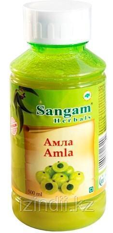Натуральный сок Амлы, 500 мл, Sangam Herbals