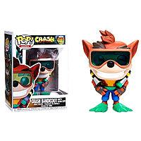 Funko Pop Crash Bandicoot 421 with scuba gear