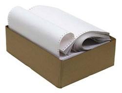 Бумага перфорированная 375 (1500 листов, плотность бумаги 80 г/м2)