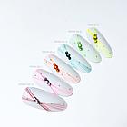"""Гель-краска Lunail паутинка """"Spider gel 7"""" розовая 5мл, фото 4"""
