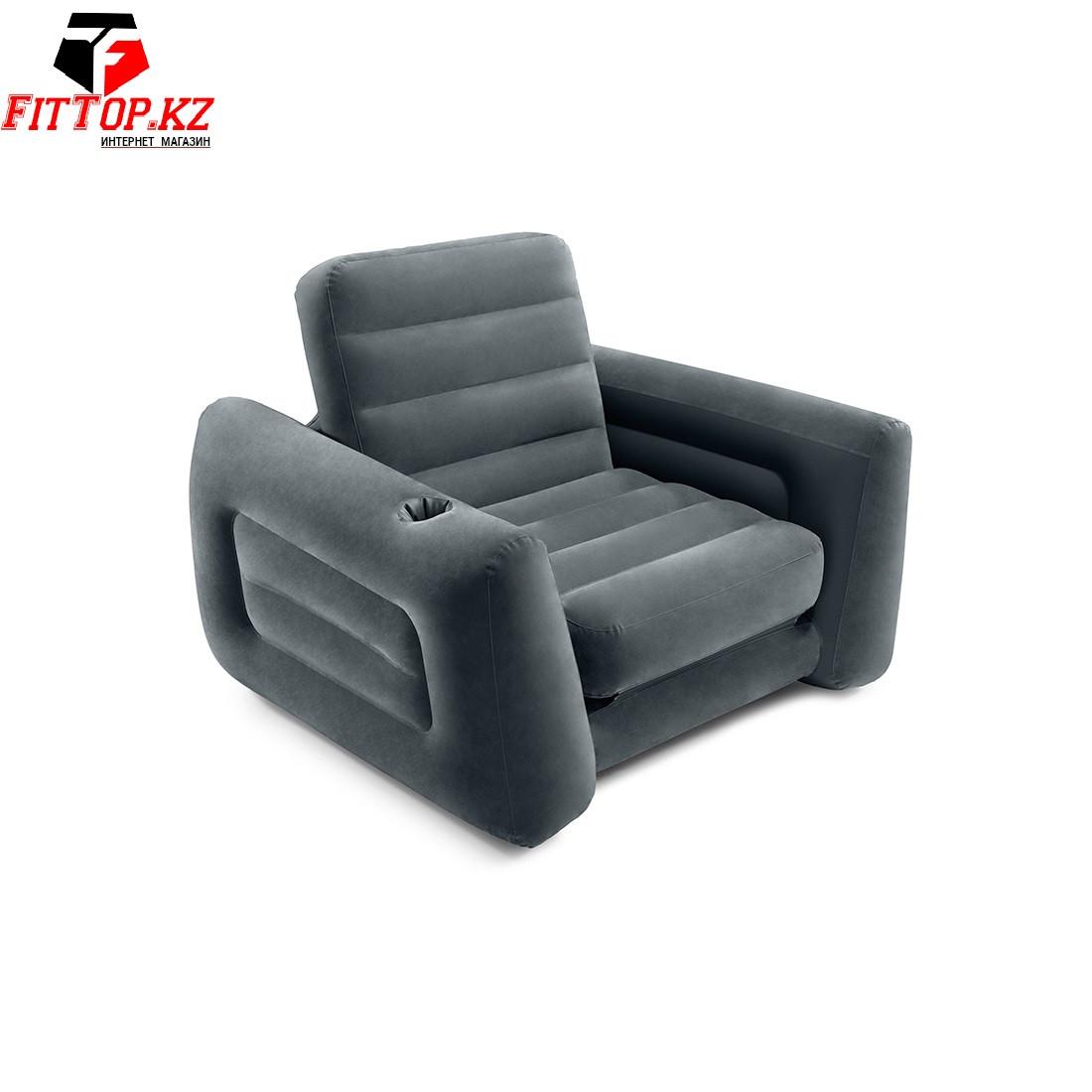 Кресло-трансформер надувное Pull-Out Chair (224x117x66 см) INTEX 66551NP