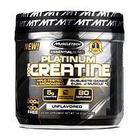 Muscle tech, Креатин 100%, Creatine Platinum, 400 грамм
