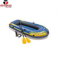 Лодка надувная Challenger 2 set (236 х 114см), INTEX, 68367NP