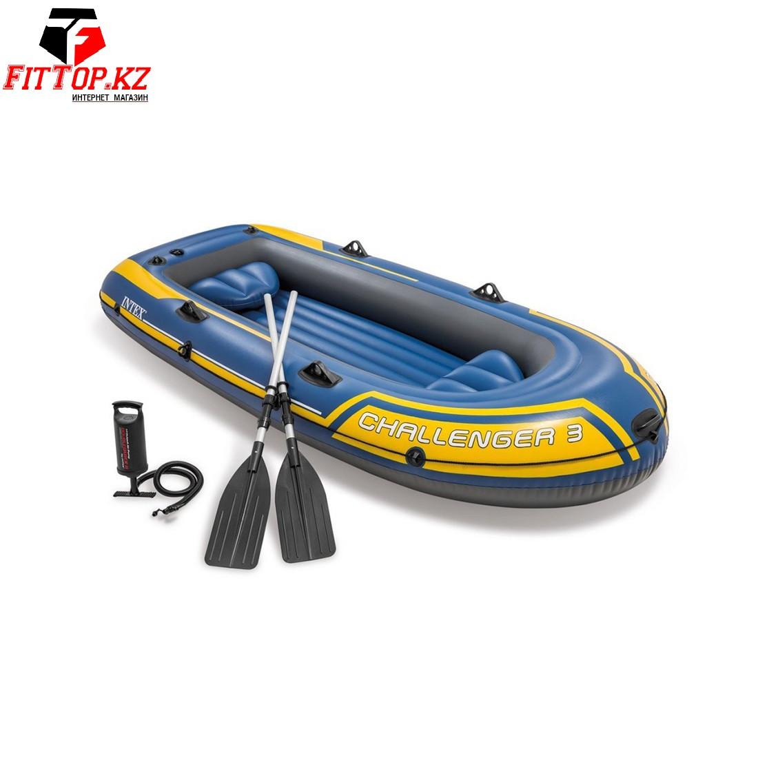 Лодка надувная Challenger 3 set (295 х 137см), INTEX 68370NP