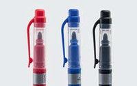 Маркер перманентный двусторонний, набор из 3 штук - красный, синий и черный цвета (ISOLAB)
